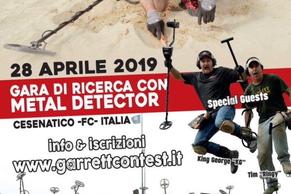 Garrett Contest Cesenatico 2019 Gara con Metal Detector